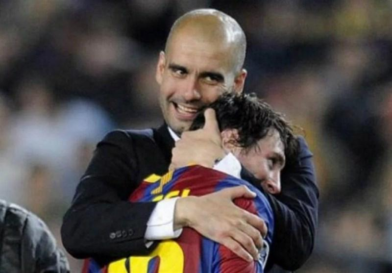 گواردیولا: مسی را که دیدم، می دانستم با او تمام جام ها را می برم، رفتنم از بارسلونا اتفاقی طبیعی بود