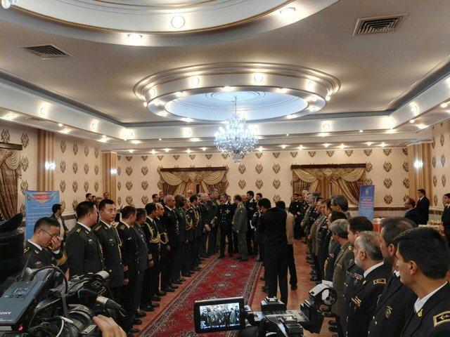 وابستگان نظامی 27 کشور خارجی با فرمانده نیروی دریایی ارتش دیدار کردند