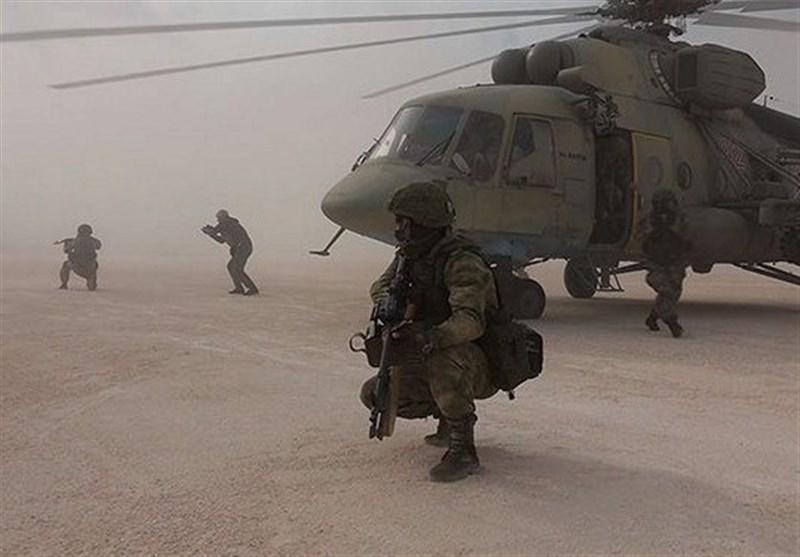 کنترل نظامیان روسیه بر فرودگاه نظامی آمریکا در شمال سوریه
